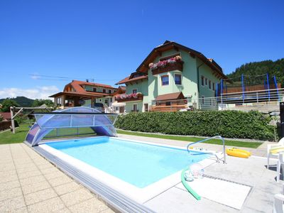 "Photo for Very beautifull 4 persons apartm.with swimmingpool,in the ""pearl"" of Carinthia."