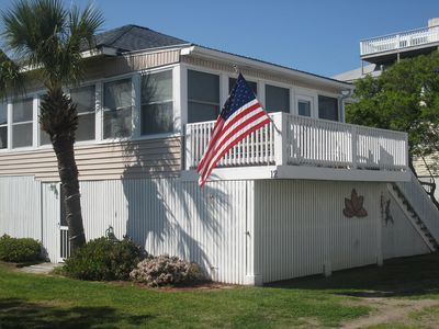Photo for Large traditional Cottage, 100 Steps to the Dunes, Private Beach Access