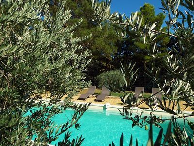 Photo for house in the heart of the Luberon, swimming pool, olive grove. Calm. Aix en Provence at 35 mn