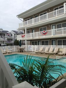 Photo for Beautiful Beach Block Condo With Heated Pool On 8th And Ocean
