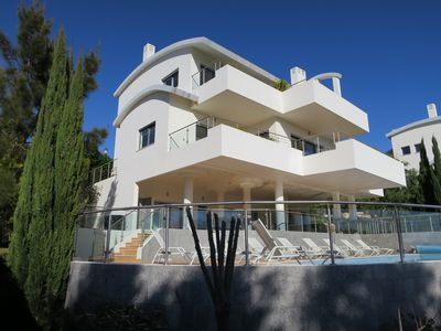 Photo for Stunning Contemporary Accommodation with Private Pool and Sea Views