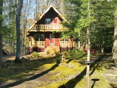 Photo for 3 bedroom, 2 bathroom chalet; 3 minute walk to pristine, child friendly beach