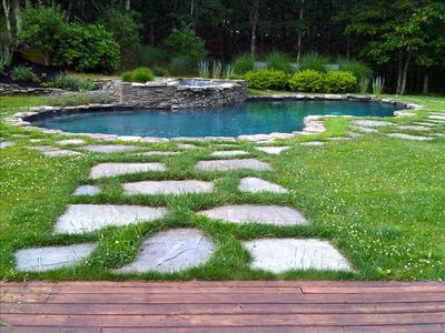 Photo for *Modern luxury *2  Private acres* Heated Pool * Hot Tub*