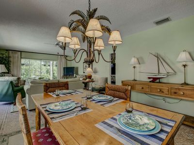 Photo for Walk to Siesta Key Beach, Wifi Included in this Private Villa, Heated Pool & Community Fishing Pier