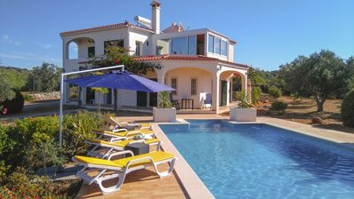 Photo for Large house in the hills of the Algarve with spectacular views