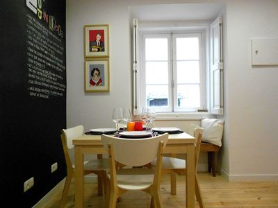 Photo for Beautiful and Bright Apartment in Sunny Lisbon Historic Centre - Alfama