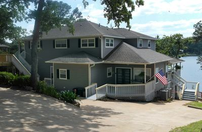 Photo for A Stunning Home with Docks, Porches, Covers, Decks & Boat House.
