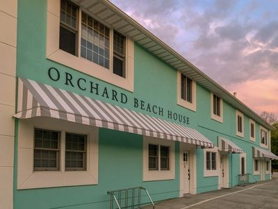 Photo for Spacious condo w/ Hot Tub & Sauna across from Orchard Beach State Park!