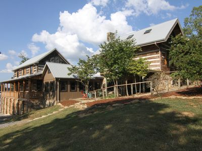 Photo for As seen on Barnwood Builders! 5 Bedrooms, PLUS detached bunk/guest house