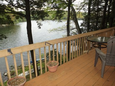 Photo for Beautiful 3 Bdm Lakefront Vacation Home in Monterey Mass Summer Rental