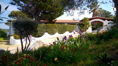 Photo for panoramic villa with garden in Isola Rossa