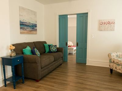 Photo for Corner Suite - Modern Comfort in the Heart of Downtown Sturgeon Bay