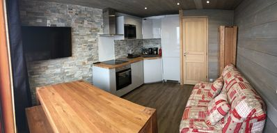 Photo for BEAUTIFUL PLAGNE 2pièces / 6pers - On the slopes, Housekeeping + covered parking + internet