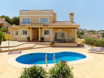 Photo for Luxury Villa with own pool and stunning views