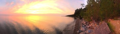 Photo for Great location to get away from it all and enjoy Lake Michigan sunsets