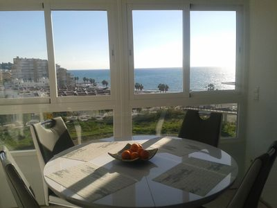 Photo for 40 m2 studio apartment with spectacular views of the sea and the mountains