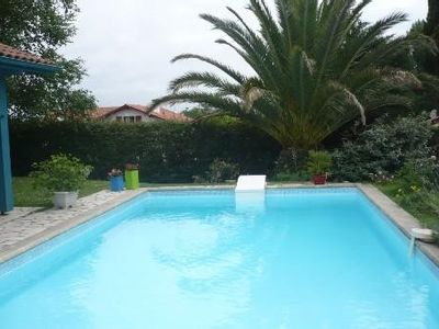 Photo for Anglet, house with pool and garden