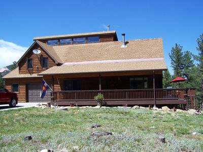 Photo for MOUNTAIN RETREAT NESTLED IN 3 ACRES OF PINES in Allenspark, Colorado.