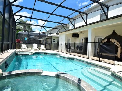 Photo for Spacious vacation rental home just 3 miles from Disney!