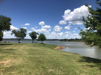 Photo for 2 bedroom / 1 bath with 4 season porch on Lake Buchanan that sleeps 10