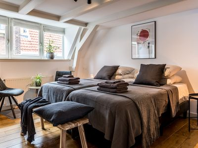 Photo for 2-Bedroom B&B in the Heart of Amsterdam w/ a Canal View