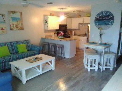 Photo for Renovated Low Rise Condo w/ Gorgeous Gulf Views!