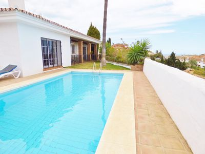 Photo for Spacious Sunny Villa with free WiFi  & Private Pool