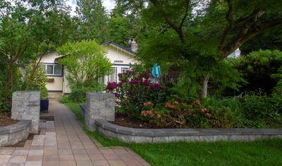 Photo for Nestled between a forest and a kids park - This home is perfect for anyone!