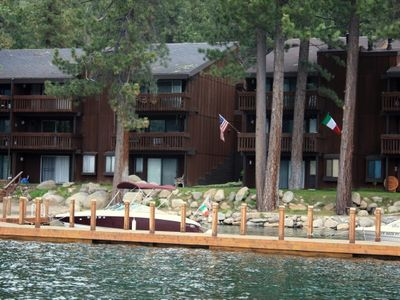 Photo for 2 bedroom, 1.5 bath, sleeps 6 (8Max). Donner Lakefront CONDO: DLR#050