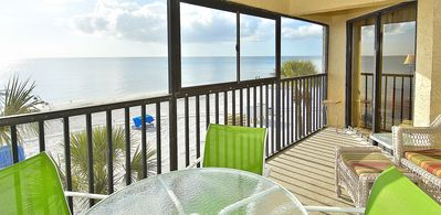 Photo for Arie Dam #202 - Beach Front/Amazing sunsets/Private balcony/Near John's Pass!