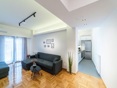 Photo for Modern design apartment near Acropolis