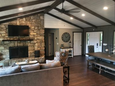 Photo for Newly renovated mountain home with great views - 2 Master Suites