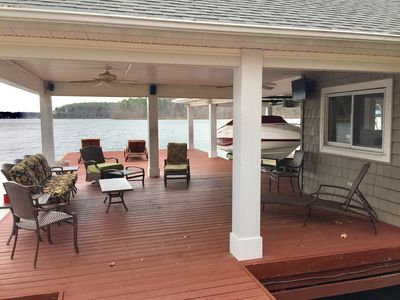Photo for Great Central Location, Beautiful Lake House, Amazing Huge Dock!