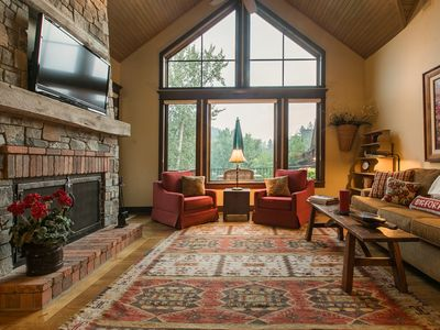 Photo for NEW LISTING! 3 riverfront homes w/private hot tub, outdoor fire, shared tennis