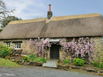 Photo for THE GARDEN COTTAGE, pet friendly in Belstone, Ref 975731