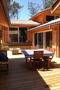 Photo for Large wooden house close to the beaches of Cap Ferret