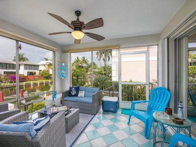 Photo for ****WATER FRONT- GULF ACCESS- BEAUTIFULLY DECORATED CONDO WITH WATER VIEWS***
