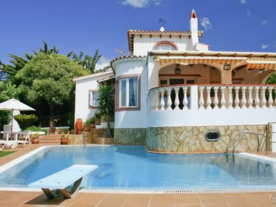 Photo for 3 bedroom Villa, sleeps 7 with Pool and Air Con