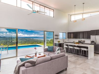 Photo for New Modern Home w/ 360 Mountain & Ocean Views in a Gated Community