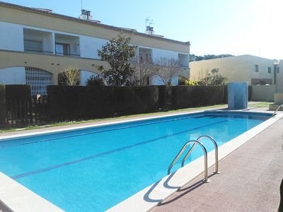 Photo for Villa Miguel, less than 400m from the beach, garden, terrace and communal pool