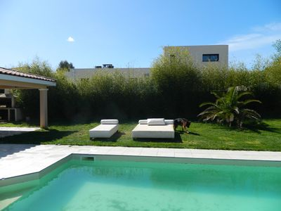 Photo for CONTEMPORARY VILLA WITH PRIVATE SWIMMING POOL 15 MINUTES FROM BEACHES FOR 8 PEOPLE