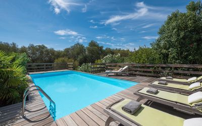 Photo for Great villa with sea view and swimming pool at 3 km from the beaches - Torraccia