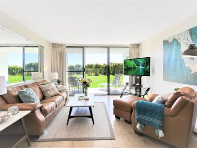 Photo for Bright, Spacious and Renovated Ground Floor Condo