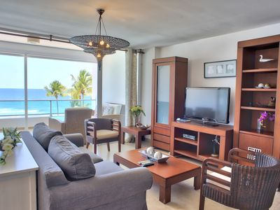 Photo for Scenic Oceanfront Three Bedrooms Apartment