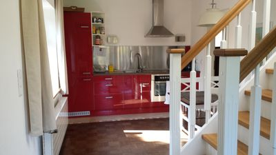 Photo for Apartments at the North Sea - 4 persons, WLAN included, terrace and garden