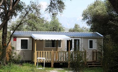 Photo for Camping Casa Di Luna ** - Air-conditioned 4-room mobile home 6/7 people