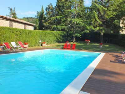 Photo for 10 bedroom Villa, sleeps 20 in Corti with Pool and WiFi