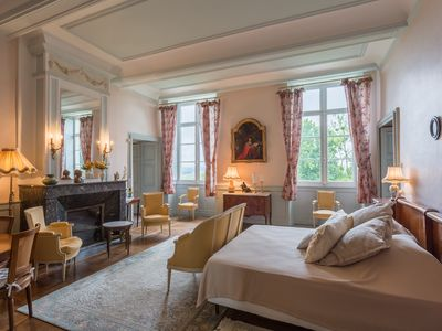 Photo for Family Suites at Château d'Estrac - Béarn and Bordeaux