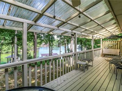 Photo for LAKEFRONT TOWNHOME LOCATED ON LAKE DESOTO - 2 BEDROOM/2 BATH - $135 PER NIGHT - NON SMOKING