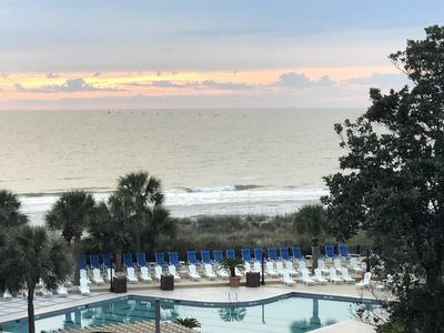 Photo for November discounts!  Check out the view from this amazing condo on the beach!